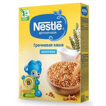 Nestle гречневая каша, с молоком, с 4 месяцев, 200гр (40148)
