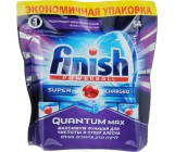 Finish таблетки для посудомоечных машин, Quantum Max Лимон, 54шт (90342)