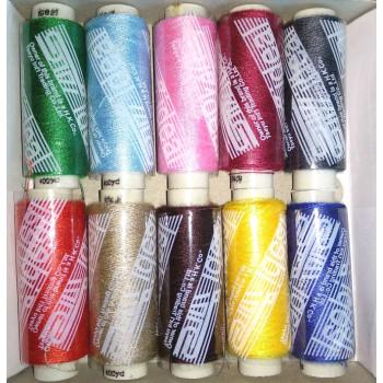 Ideal набор ниток, разноцветные,10шт (98012)