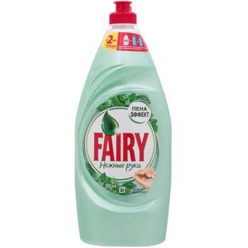 Fairy средство для посуды, Нежные Руки, Чайное Дерево и Мята, 900мл (17079)