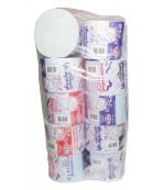 Семейная туалетная бумага 2 слойная, 10 рулонов (60022)