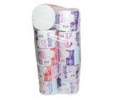 Семейная туалетная бумага, 10 рулонов, 2 слойная (60022)