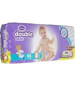 Violeta Double Care Junior #5 подгузники, в упаковке влажные салфетки в подарок, 11-25 кг, 52шт (10307)