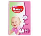 Huggies ultra comfort гига #4 подгузники 8-14 кг, для девочек, 80шт (43680)