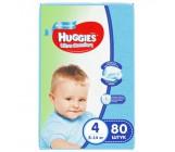 Huggies ultra comfort гига #4 подгузники 8-14 кг, для мальчиков, 80шт (43673)