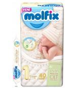 Molfix new born #1 подгузники, 2-5кг, 40шт (05266)