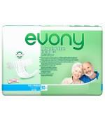 Evony подгузники для взрослых,  #2, medium, 80-130см, 6 капель, 30шт (04061)