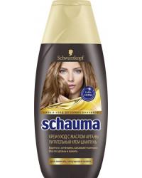 Schauma шампунь питательный, с маслом Арганы, для ломких секущихся волос, 380мл (12600)