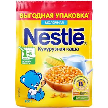 Nestle кукурузная каша, с молоком, с 5 месяцев, 200гр (40186)