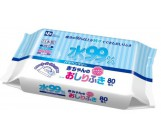 iPlus детские влажные салфетки состоят из  99,9% воды, 80шт (44370)