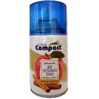 Compact универсальный сменный аэрозольный баллон, Яблоко и Корица, 250мл (35100)