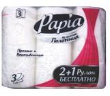 Papia бумажные полотенца, 3 рулона, 3 слоя, 50 отрывов в  рулоне (00853)