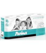 Perina Perfect White туалетная бумага, 8 рулонов, 3 слоя, 150 отрывов в рулоне (00145)