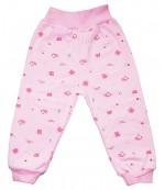 Аистёнок штанишки для ребенка, розовый, 6-9 месяцев, 1шт (09246)