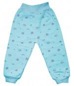 Аистёнок штанишки для ребенка, голубой, 6-9 месяцев, 1шт (07969)