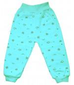 Аистёнок штанишки для ребенка, бирюзовый, 6-9 месяцев, 1шт (07976)