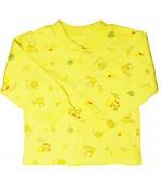 Аистёнок кофточка для ребенка, желтая, 0-3 месяцев, 1шт (07822)