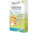 Fleur Alpine печенье детское  с яблочным соком, 6 месяцев, 150гр (40854)