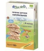 Fleur Alpine печенье детское натуральное, 6 месяцев, 150гр (40823)