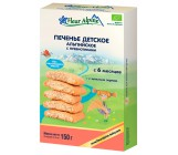 Fleur Alpine печенье детское альпийское с пребиотиками, 6 месяцев, 150гр (40861)