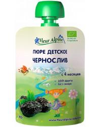 Fleur Alpine пюре сашет, чернослив, с 4 месяцев, 90гр (01031)