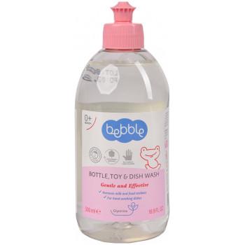 Bebble детское средство для мытья бутылочек, посуды и игрушек, с глицерином, 500мл (03140)