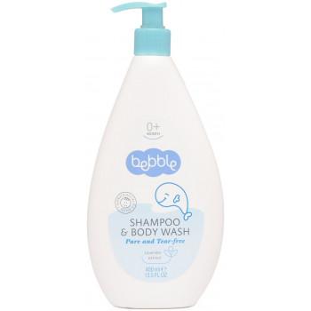 Bebble детский шампунь для волос и тела, экстракт лаванды, 400 мл (01092)