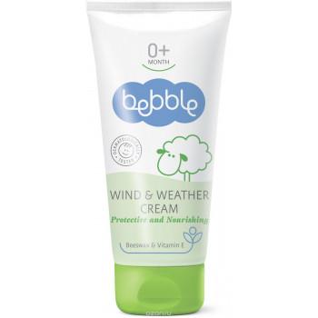 Bebble детский крем для защиты от ветра и непогоды, с пчелиным воском и витамином Е, 50мл (01016)