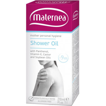 Maternea масло для душа, с пантенолом, 210мл (03942)