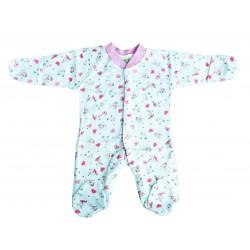 Kilic Bebe комбинезон-слип детский с царапками, розовый, 0-3 месяцев, 1шт (09017)
