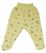 Аистёнок ползунки для ребенка, желтый, 0-3 месяцев, 1шт (07938)