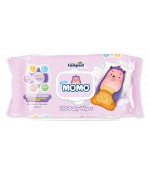 Momo compact влажные салфетки для детей, гипоаллергенные, 100шт (34974)