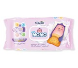 Momo влажные салфетки для детей, гипоаллергенные, 100шт (35698)