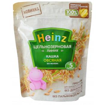 Heinz Цельнозерновая Линия каша безмолочная, Овсяная, с 5 месяцев, 180гр (04702)
