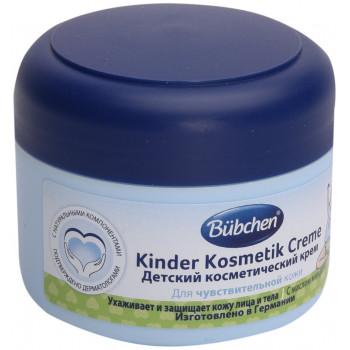 Bubchen детский косметический крем, с маслом миндаля, 75мл (14644)