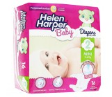 Helen Harper Mini #2 подгузники детские, 3-6кг, 16шт (29472)