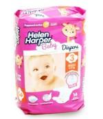 Helen Harper Midi #3 подгузники детские, 4-9кг, 14шт (29496)