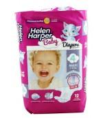 Helen Harper Maxi #4 подгузники детские, 7-18кг, 12шт (29519)
