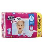 Helen Harper Maxi #4 подгузники детские, 7-18кг, 62шт (29731)