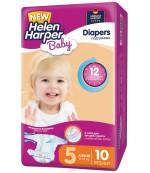 Helen Harper Junior #5 подгузники детские, 11-18кг, 10шт (29533)