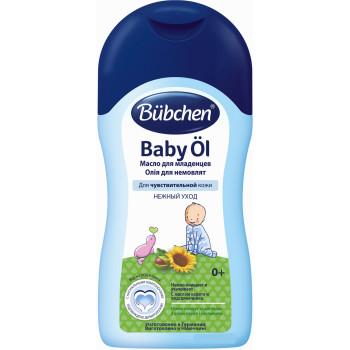 Bubchen масло для младенцев, с маслом карите и подсолнечника, 400мл (11428)