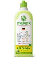 Synergetic средство для мытья посуды и детских игрушек, Яблоко, 500мл (71449)