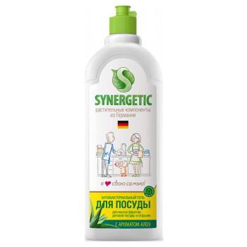 Synergetic средство для мытья посуды и детских игрушек, Алоэ, 500мл (71463)