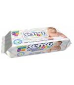 Senso Baby влажные салфетки, без спирта и парабенов, 120шт (01176)