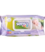 Senso Baby влажные салфетки, без спирта и парабенов, 72шт (01183)