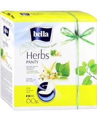 Bella Soft Лекарственные травы ежедневные прокладки, с экстрактом липового цвета, 2 капли, 60шт (12107)