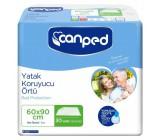 Canped одноразовые пеленки для взрослых и детей, одноразовые, 60*90см, 30шт (10264)