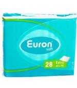 Euron Soft Extra одноразовые пеленки для детей, взрослых и лежачих больных, 60х90см, 28шт (07562)