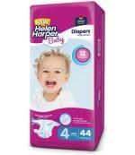 Helen Harper Maxi #4 подгузники детские, 7-14 кг, 44шт (29571)