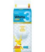 Whito подгузники дневные на 3 часа, M, #3, 6-11 кг, 52шт (27604)